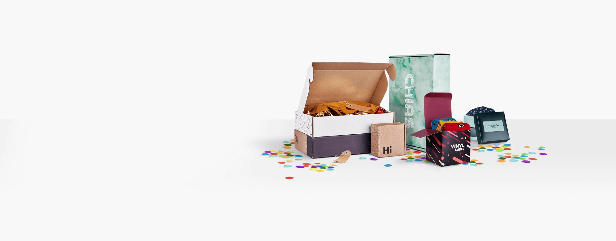 Boîtes personnalisées