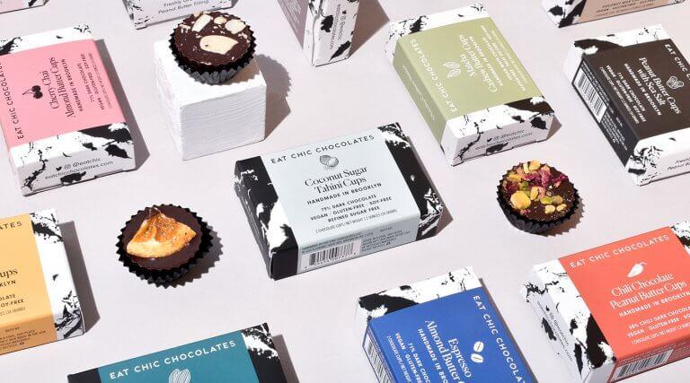 L'art de l'emballage pour chocolats